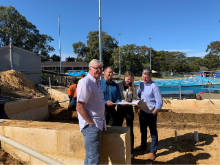 New change facilities provide access for all at Claremont Aquatic Centre